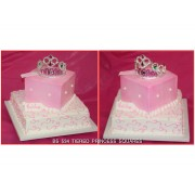 Tiered Princess Squares