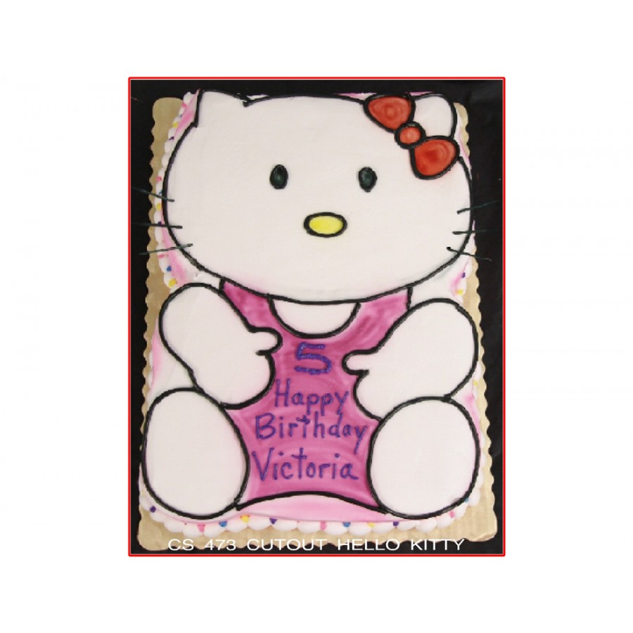 Cutout Hello Kitty