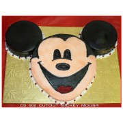 Cutout Mickey Mouse