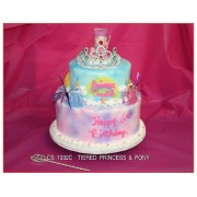 Tiered Princess And Crown