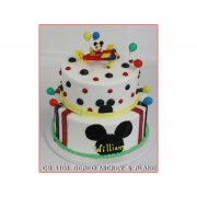 Tiered Mickey