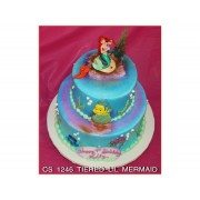 Tiered Little Mermaid