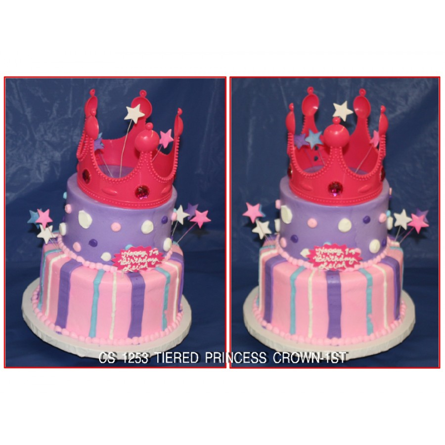 Tiered Princess Crown