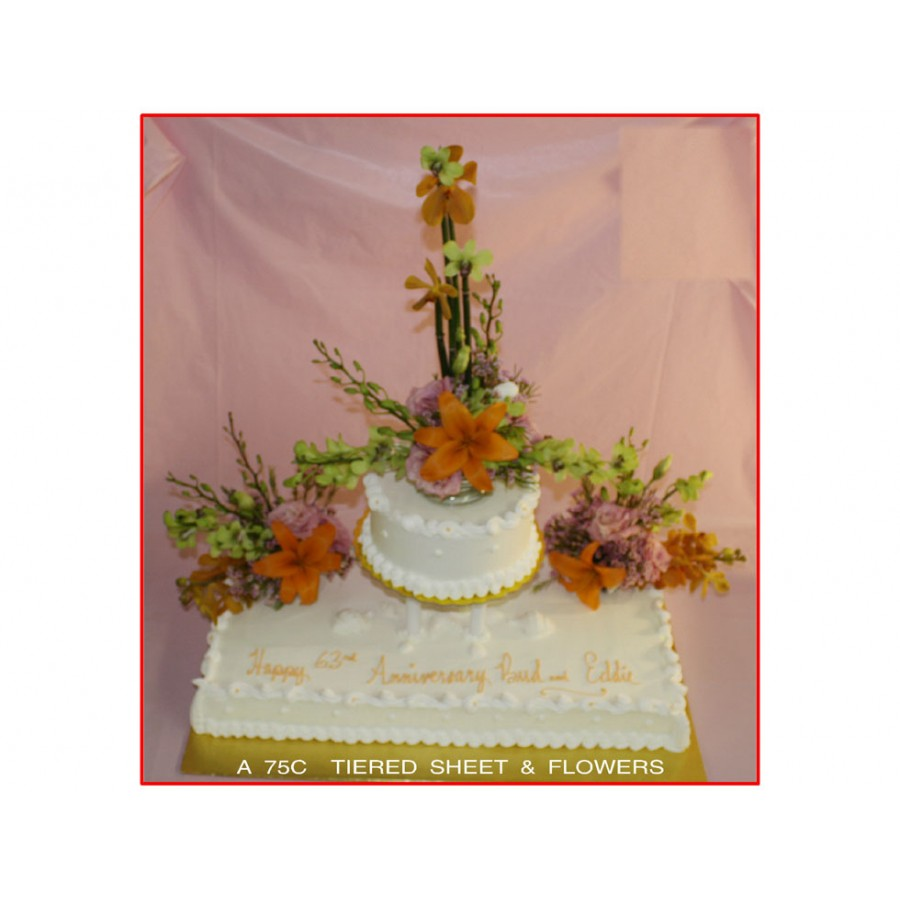 Tiered Sheet Flowers