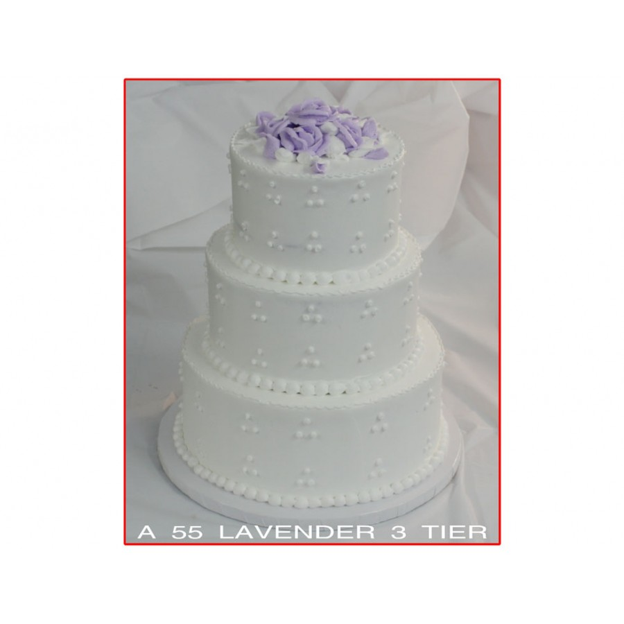 Lavender Tiered