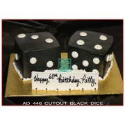 Cutout Black Dice