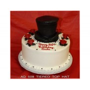 Tiered Top Hat